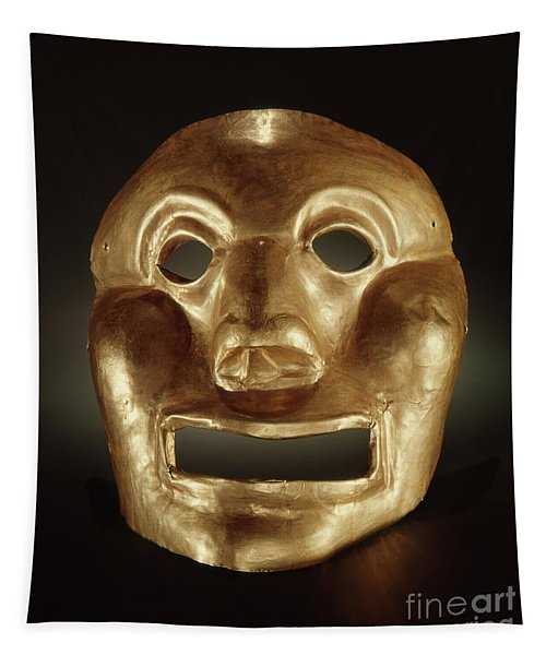 Calima Mask  Tapestry