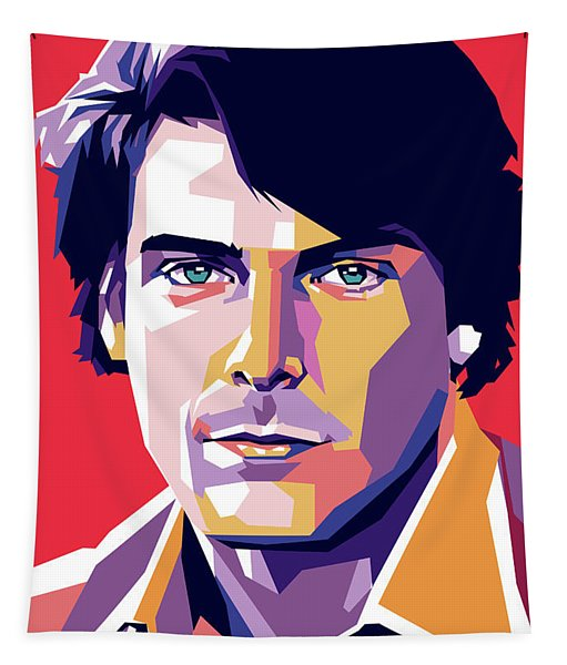 Christopher Reeve Tapestry