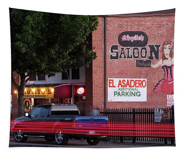 Chuyito's Texican Burgers Fort Worth 82219 Tapestry