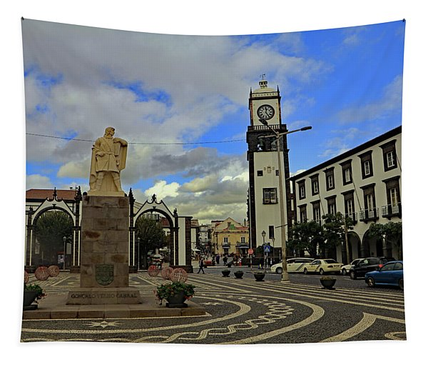 City Gate  Tapestry