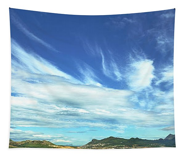 Clouds Over Landscape, Eastern South Tapestry