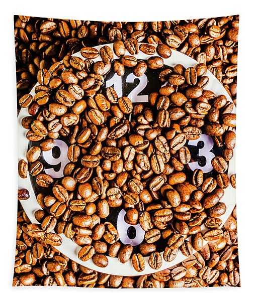 Coffee Time Tapestry