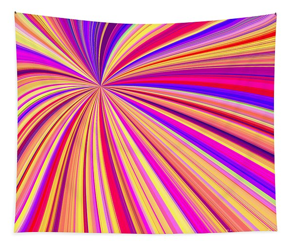 Colorful Star Lines - Ddf660 Tapestry