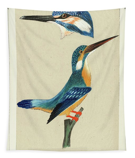 Common Kingfisher Tapestry