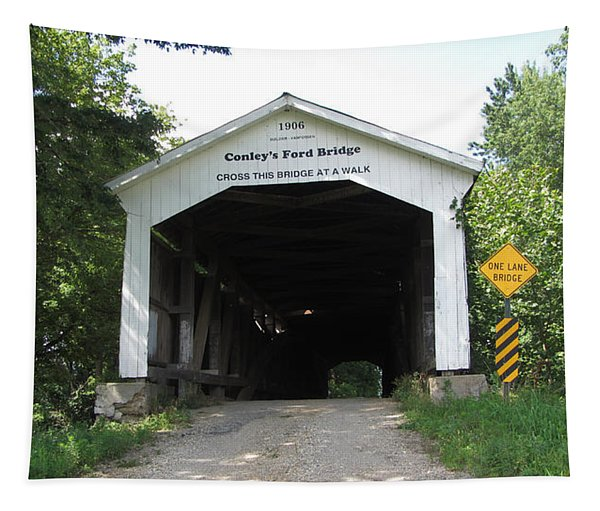 Conley's Ford Covered Bridge Tapestry
