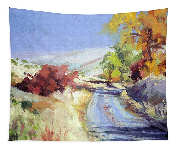 Country Blue Sky Tapestry