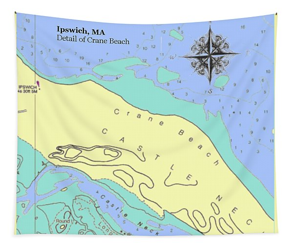 Crane Beach Tapestry