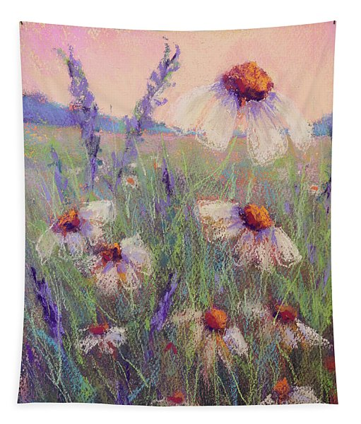 Delicate Daisies Tapestry