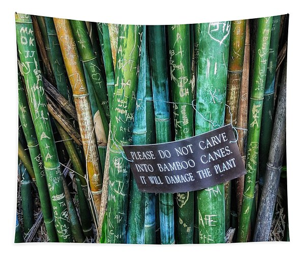 Do Not Carve Tapestry