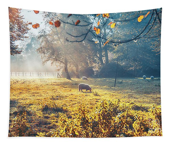 Dutch Ecological Farm Tapestry