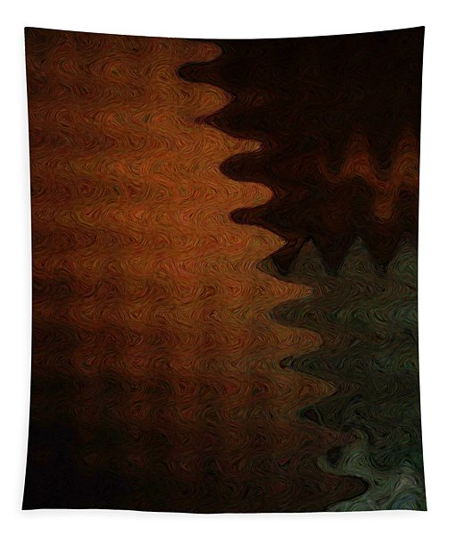 Ethnic Wave Tapestry