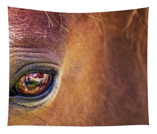 Eye Of Fiddle Tapestry