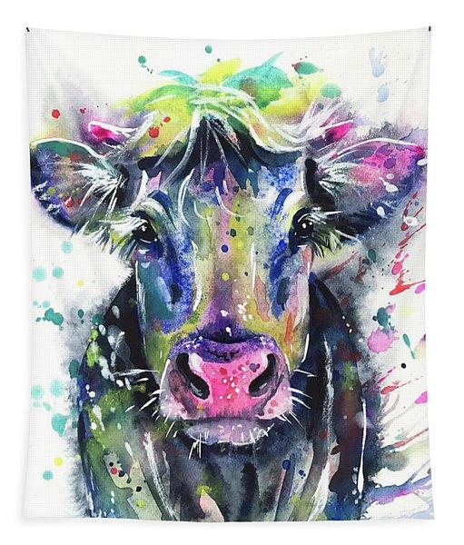 Fancy Cow Tapestry