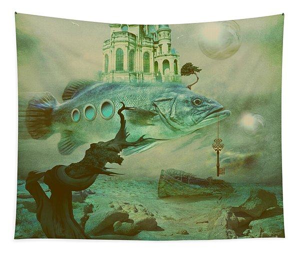 Finding Captain Nemo Tapestry