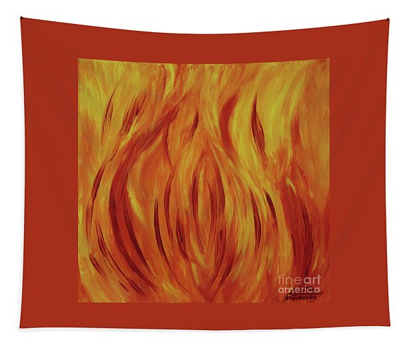 Fire Flame Tapestry
