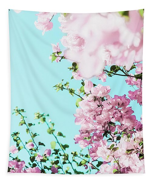 Floral Dreams I Tapestry
