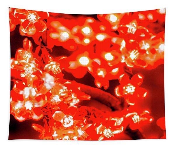 Flower Lights 4 Tapestry