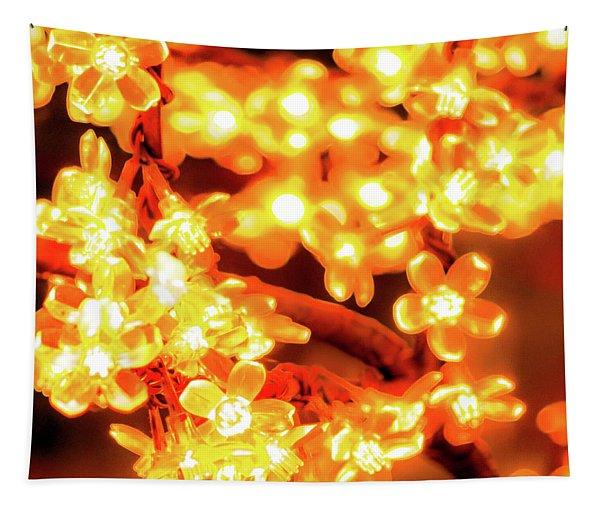 Flower Lights 5 Tapestry