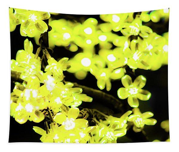 Flower Lights 6 Tapestry
