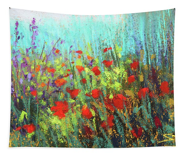Flower Party Tapestry