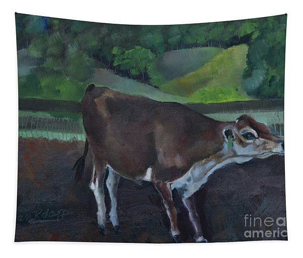 Franks Cow - Mountain Valley Farms Tapestry