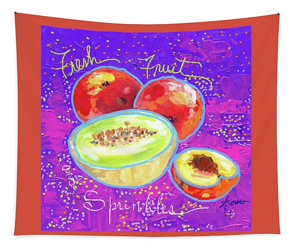Fresh Fruit And Sprinkles  Tapestry
