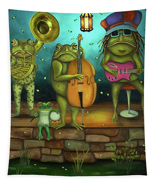 Frog Music Tapestry