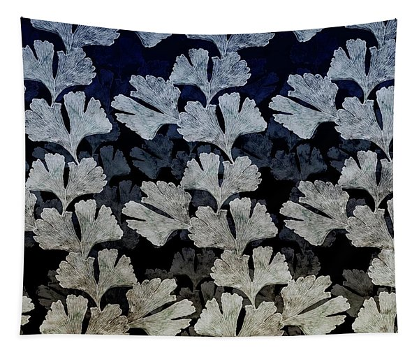 Ginko Leaf Pattern Tapestry