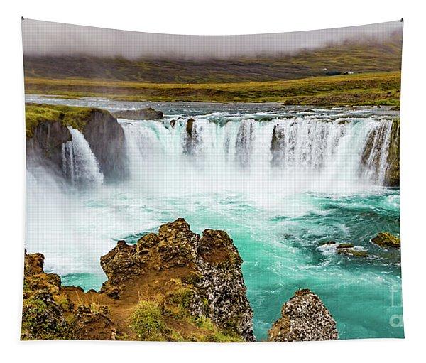 Godafoss Waterfall, Iceland Tapestry