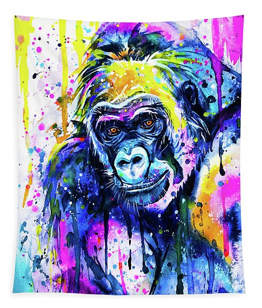 Gorilla 2 Tapestry