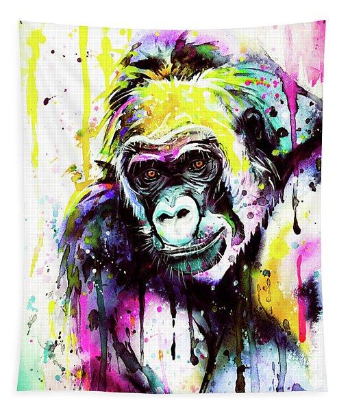 Gorilla 3 Tapestry