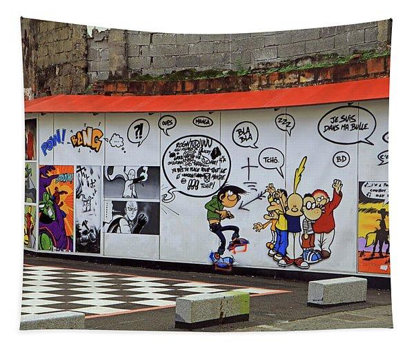 Graffiti Tapestry