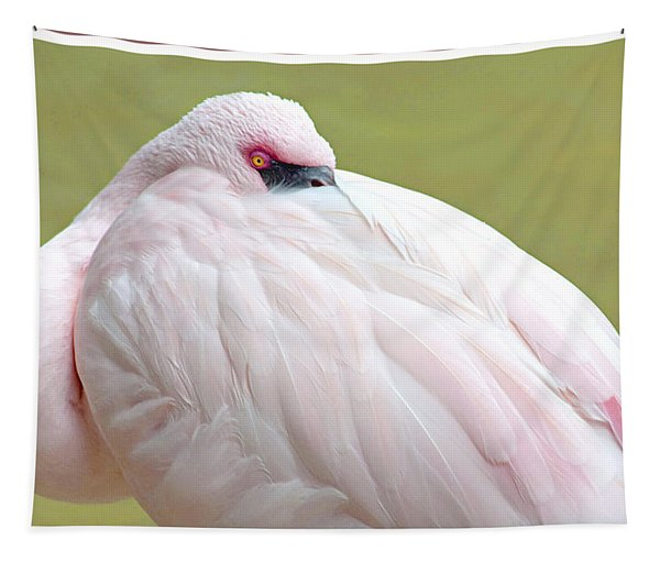 Greater Flamingo Tapestry