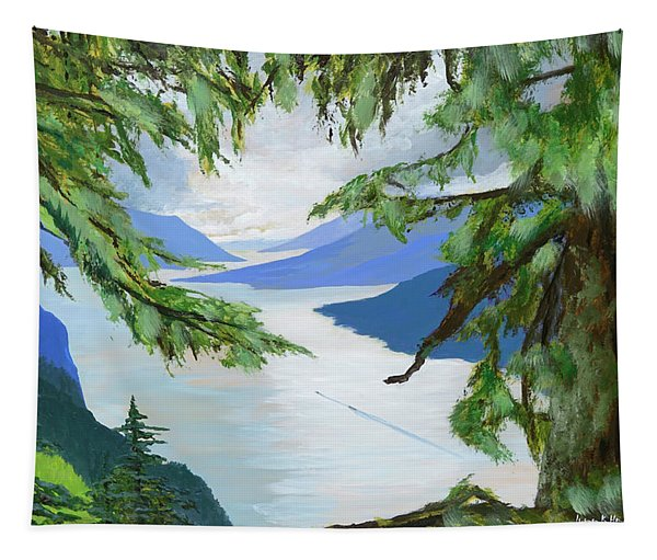 Guided Through The Fjords Tapestry