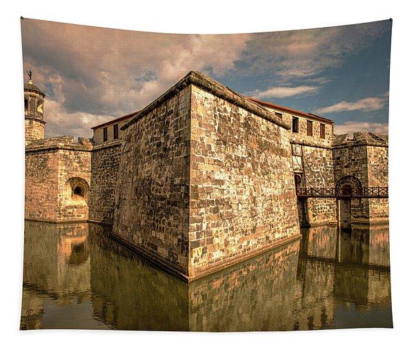 Havana Fortress Tapestry
