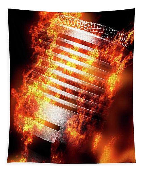 Hot Mic Tapestry