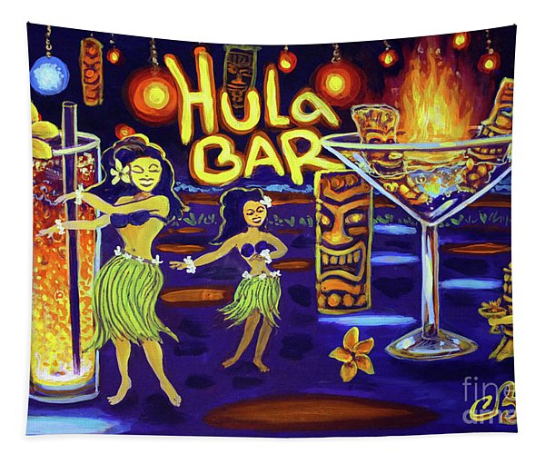 Hula Bar Tapestry