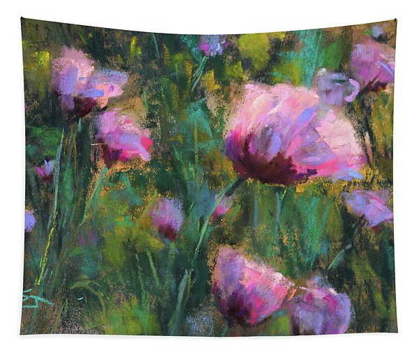 I Dream Of Purple Tapestry