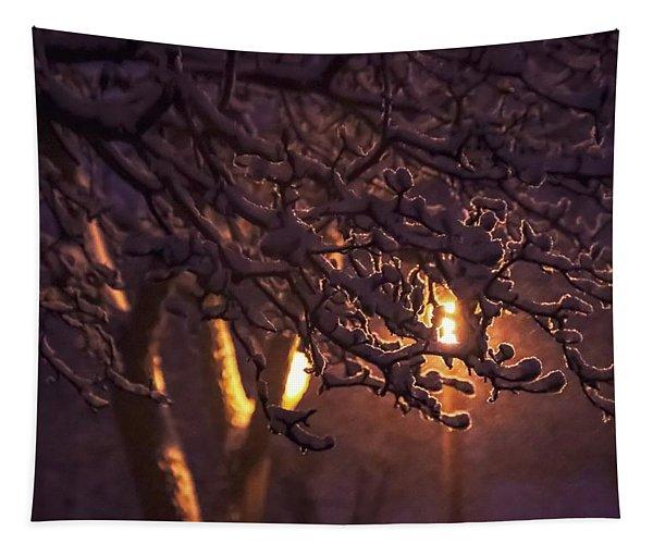 Iced Magnolia Tapestry