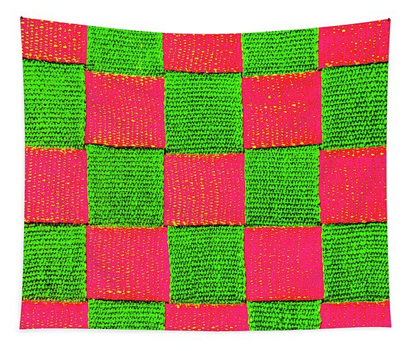 Interlaced Canvas Straps 2 Tapestry