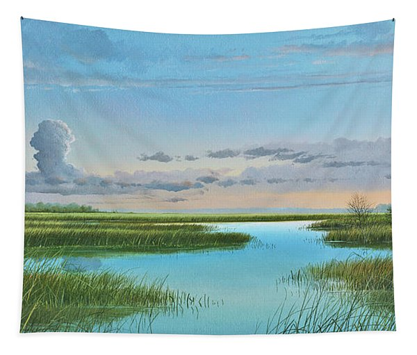 Intracoastal Sunset Tapestry