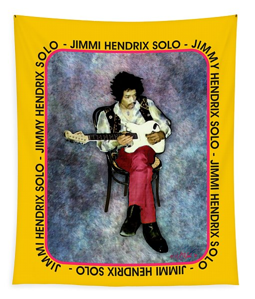 Jimi Hendrix Solo Tapestry