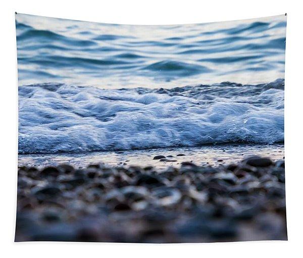 Lake Foam Tapestry