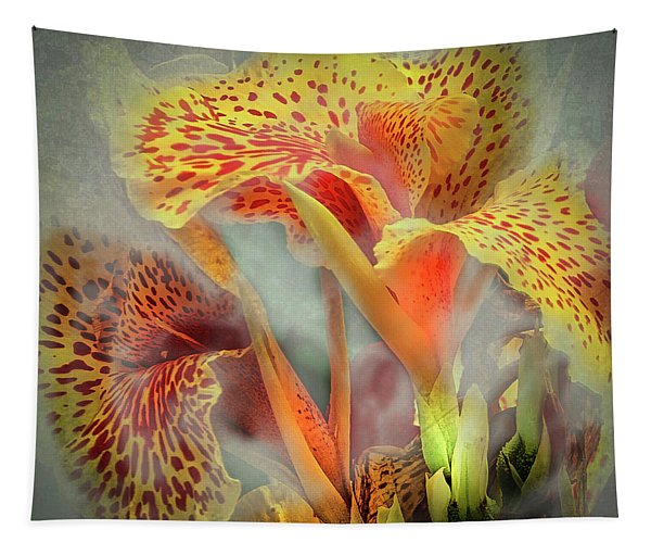 Lily In The Fog Tapestry