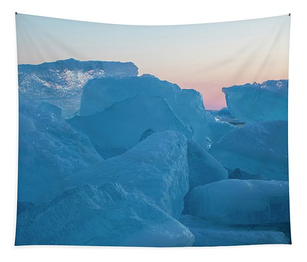 Mackinaw City Ice Formations 2161804 Tapestry