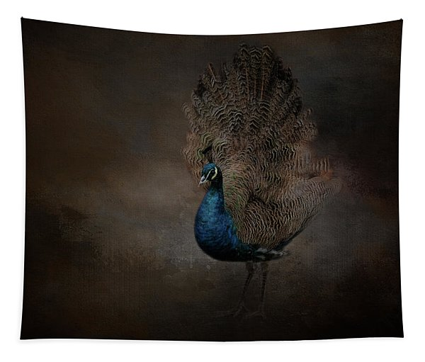 Majestic Blue Beauty  Tapestry