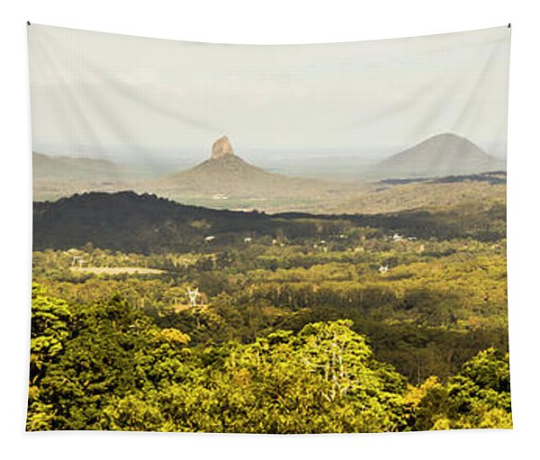 Maleny To The Glass House Mountains Tapestry