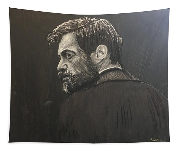 Man With A Beard  Tapestry