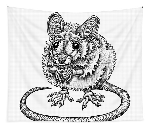 Meadow Jumping Mouse Tapestry