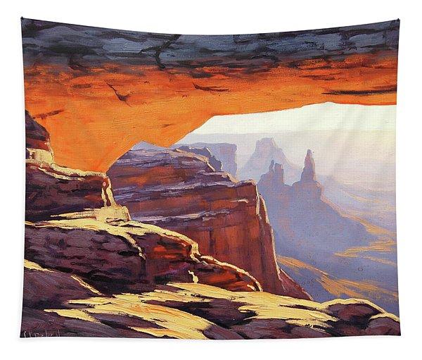 Mesa Arch Sunrise Tapestry